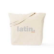 Latin. Tote Bag