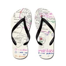 In-orbit medical report Flip Flops