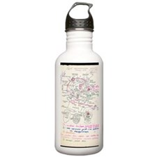 In-orbit medical repor Water Bottle