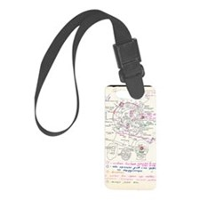 In-orbit medical report Luggage Tag