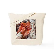 Fish at a market Tote Bag