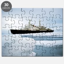 First nuclear-powered ship, NS Lenin Puzzle