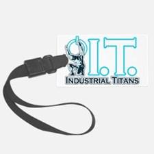Industrial Titans Luggage Tag