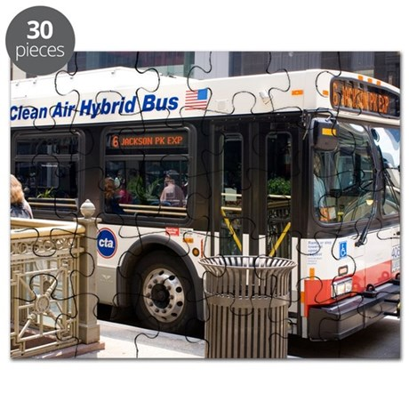 Hybrid bus in Chicago Puzzle