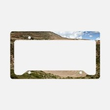 Inca agricultural terraces, M License Plate Holder