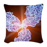 Antibodies Woven Pillows