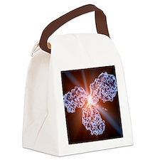 Immunoglobulin G antibody molecul Canvas Lunch Bag