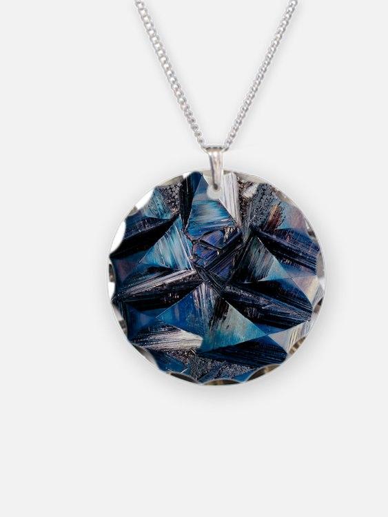 Fayalite crystals Necklace