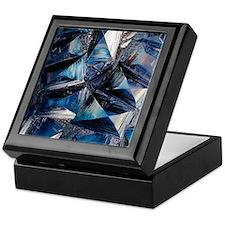 Fayalite crystals Keepsake Box