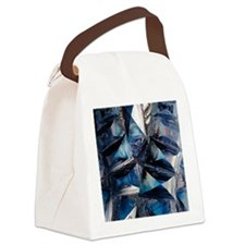 Fayalite crystals Canvas Lunch Bag