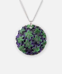 Human papilloma virus partic Necklace