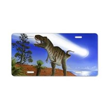 Extinction of the dinosaurs Aluminum License Plate