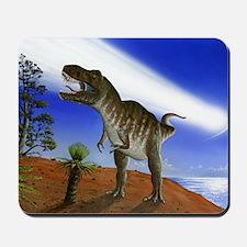 Extinction of the dinosaurs, artwork Mousepad