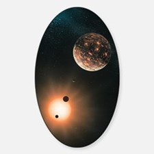 Extrasolar planets, artwork Decal