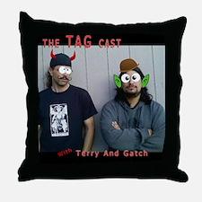 tag cast 1 Throw Pillow