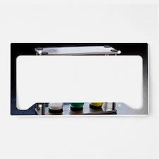 Hour glass/Egg time License Plate Holder