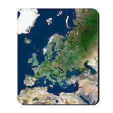 Europe, satellite image Mousepad