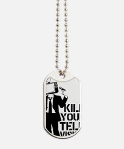 Kill Your Television Dog Tags