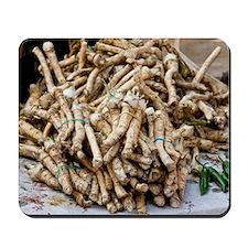Horseradish roots Mousepad