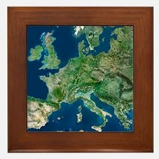 Europe Framed Tile