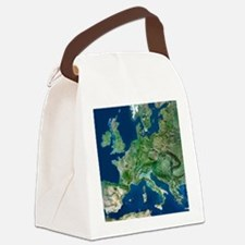 Europe Canvas Lunch Bag