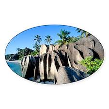Eroded granite Decal