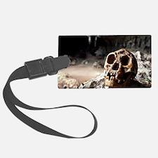 Homo floresiensis skull Luggage Tag