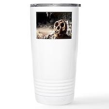Homo floresiensis skull Travel Mug