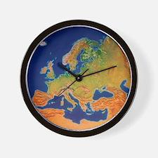 Europe Wall Clock