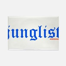Junglist Rectangle Magnet