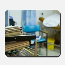 Hospital medical records Mousepad