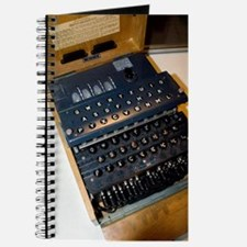 Enigma code machine Journal