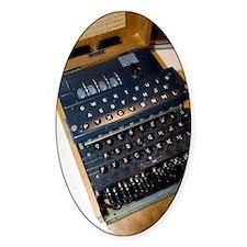Enigma code machine Decal