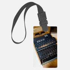 Enigma code machine Luggage Tag