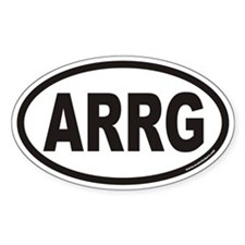 ARRG Euro Oval Decal