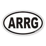ARRG Euro Oval Sticker
