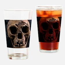 Homo floresiensis skull Drinking Glass