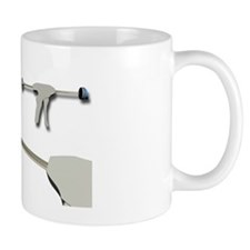 Hip replacement, artwork Mug