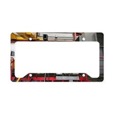 Electricity production facili License Plate Holder