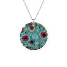 Herpes virus, TEM Necklace