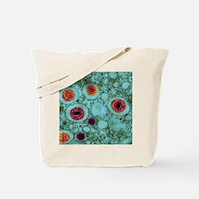 Herpes virus, TEM Tote Bag