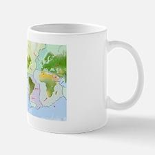 Earth's tectonic plates Mug