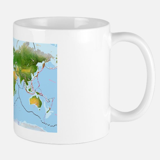 Earth's tectonic plates Mug