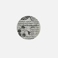 Herbal medicine, 8th century Mini Button