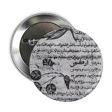 """Herbal medicine, 8th century 2.25"""" Button"""