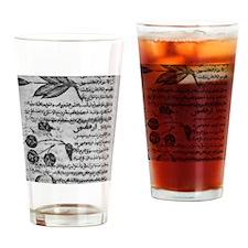 Herbal medicine, 8th century Drinking Glass
