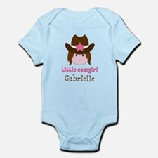 Personalized Little Cowgirl Body Suit