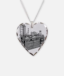 Heart-lung machine, 20th cent Necklace