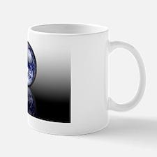 Earth in a crystal ball, conceptual ima Mug