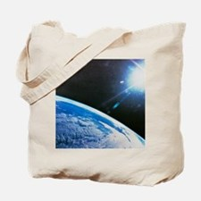 Earth from space Tote Bag